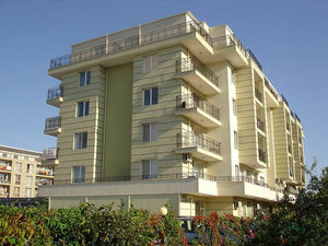 Beachfront 1-bedroom apartment with SEA VIEW in Pomorie
