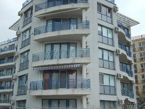 Nice holiday flat with great views situated at the Black sea