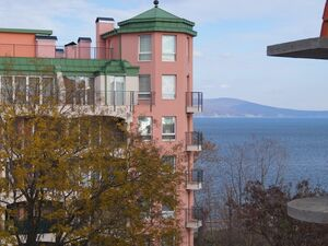 Sea view 2 bedroom apartment in Nessebar, No maintenance fee