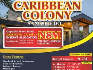 Carribean Colony, Sangotedo, Ajah