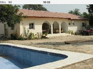 For Sale 4 bed bungalow with pool and land