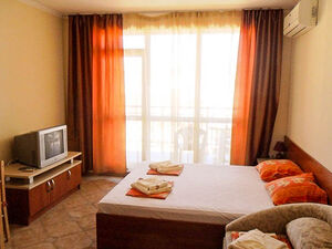 Furnished studio for sale in Central Plaza, Sunny Beach