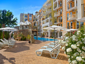 SOLD!!!Cheap luxury furnished 1-bed apartment in Sunny Beach