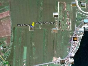 Invest in land: 10.000 square meters close to the Black Sea