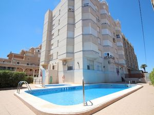 2bed, 1bath furnished, sea view, 250m from beach, Torrevieja