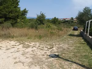 Fantastic building plot with sea view on the island of Vir