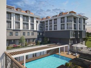 Luxury 2+1 apartment for sale in Beylikduzu Istanbul
