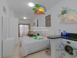Lovely studio ready to rent in Hurghada in A seafront resort