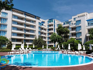 First line!1-bedroom apartment, Excelsior Sunny Beach
