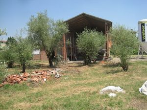 Rustic building Barn shed storage Imola countryside Bologna