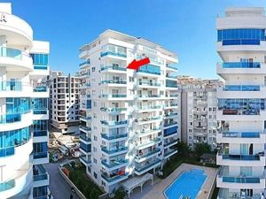 Sea view 2+1 compound apartment for sale in Istanbul