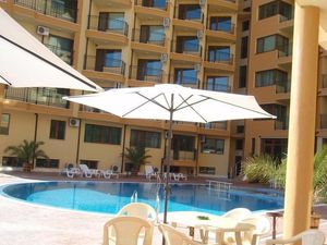 Pool view 1-bedroom apartment in Amadeus 5, Sunny Beach