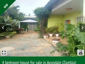 FOUR BEDROOMS HOUSE IN AVONDALE LUSAKA ZAMBIA