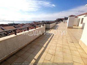 Furnished studio with sea view in Saint Vlas