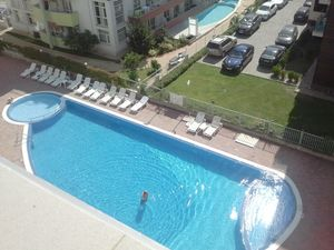 Studio with pool view in Sunset Beach 2, Sunny Beach