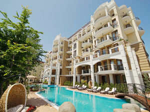TOP OFFER! 2-Bedroom apartment Harmony Suites 9 Sunny Beach