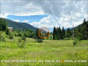 Large plot of building land in the heart of Rhodopa Mountain