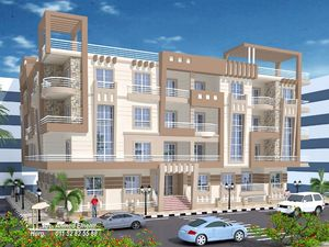Apartments in a new residential compound Blue Bay