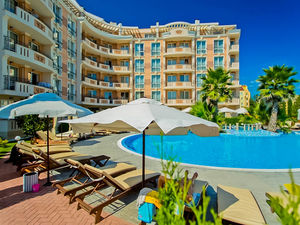 Spacious studio in Aphrodite Palace, Sunny Beach