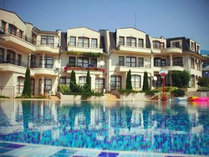 Three bedroom apartment with sea view in Nessebar View