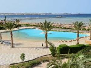 POOL & SEA VIEW  1 BDR. APARTMENT in Sahl Hasheesh, Egypt