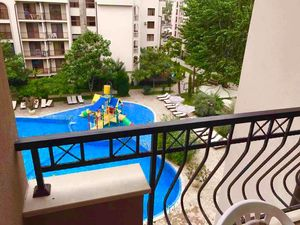 Direct Pool View 1-bedroom in Cascadas Family Resort