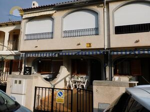 Terraced duplex 300 meters from the beach