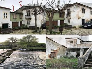 Opportunity to renovate 2X house in Ribeira Branka with 400