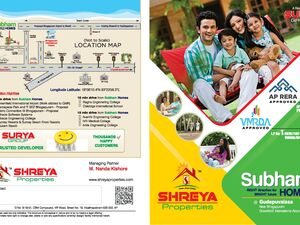 Residential Plots for sale at Bhogapuram, Visakhapatnam