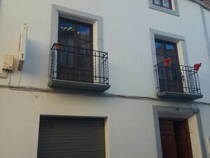 Typical Andalusian house in Granada, Spain