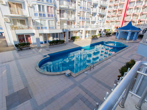 Pool view 2-bedroom apartment Sunny Dream, Sunny Beach