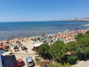 35m2 Sea View Furnished Apartment at beach in Durres
