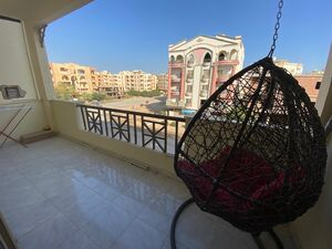 Spacious 2 bedroom apartment in residential compound