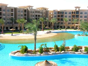 Exclusive property in a gated compound in Sahl Hasheesh