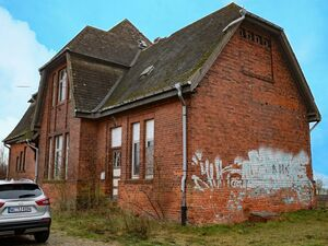 Entire former railway station building for sale