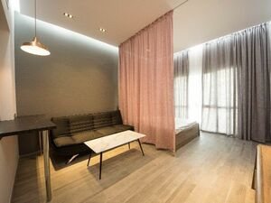 Upgraded and fully furnished studio beside metro