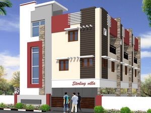 3BHK Semi Independent Villa For Sale at Pallikaranai