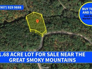 1.68-Acre Residential Lot For Sale!