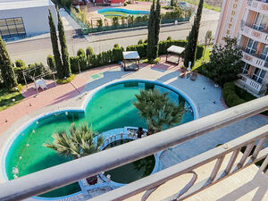 Studio with Pool view in Aphrodite Palace, Sunny Beach