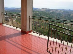Panoramic House and land in Sicily - Tamburello S.Antonino