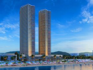 New apartment in Batumi, 60 meters from the sea