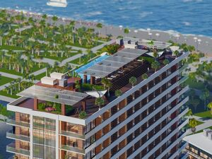 New apartment in Batumi, 350 meters from the sea