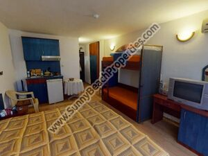 Furnished studio flat for sale Central Sunny beach Bulgaria
