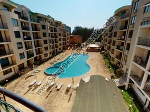 Pool view furnished 1-bedroom flat Avalon Sunny beach