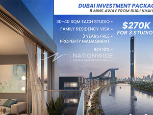Dubai Investment package, 0% AGENCY COMMISSION!
