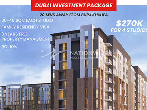 Cheapest studio investment with guarantee ROI10%