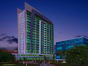 Portline is a new 19-store residential complex