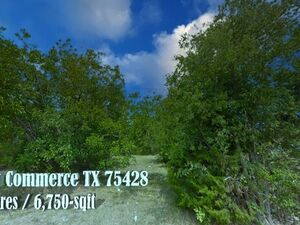 Beautiful 0.16 Acre Lot in Commerce –Commerce TX 75428