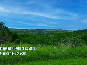 Check Out This Gorgeous Lot in Burnet County