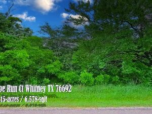 Buy a piece of Corner-Lot heaven right here in Whitney, TX